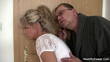 his elderly mummy and parent tricks her into.