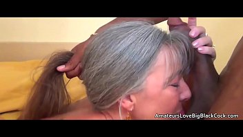grey haired grannie luvs meaty ebony.