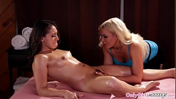 bigtitted masseuse pussylicks sapphic customer