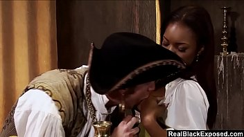 wench marie luv takes pirate dude meat up.