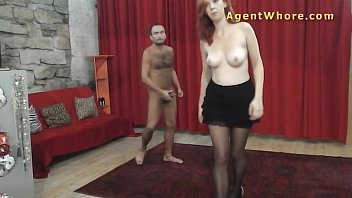 ginger-haired agent cockslut makes this stud.