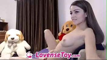 jaw-dropping stunner  live in lovensetoycom  cams.