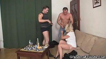blond mature nymph sates neighbor