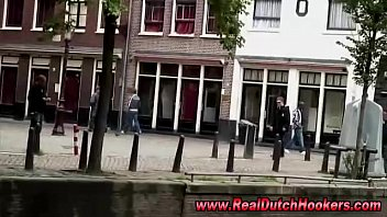 real unexperienced duch prostitute goes with dude in.