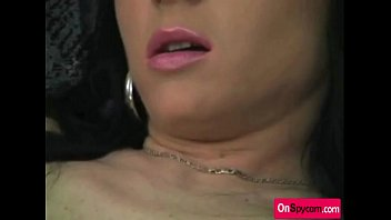 bitchy cougar dildoing her widely opened vulva deep.
