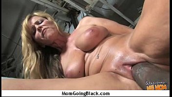 mature cougar takes on meaty dark-hued.