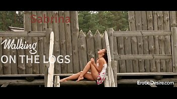 sabrina - ambling on the logs visit softcore.