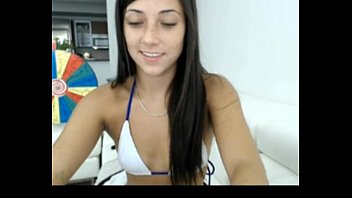 handsome camgirl put ice cube in gash and.