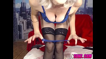 mature web cam damsel demonstrates her.