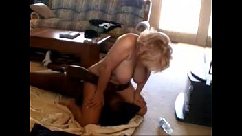 blonde mature cuckold and pulverized by immense dark-hued.