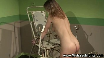 lesbian domination marionette gullet gets toyed with smash stick