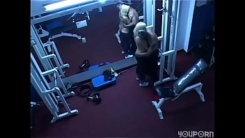 pals caught screwing at the gym - spy webcam