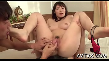 japanese woman gets her furry slit.
