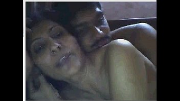 indian housewife having joy with beau on webcam.