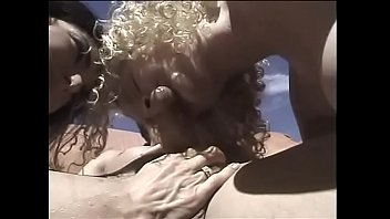 rebecca lord in steamy lady-masculine-dame 3some with warm light-haired