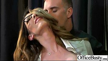 nice office gal with meaty boobs get fuck.