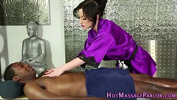 masseuse milks ebony chisel