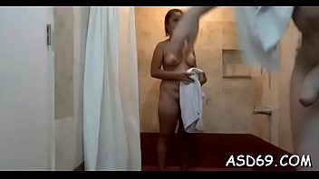thai woman unwraps her raiment and underpants to.