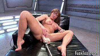 machine cougar satiated during solo sesh
