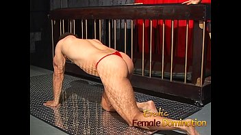 domme natasha hatch-watering has joy with her vulnerable.