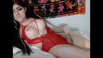 fantastic t-girl spunks for her devotees