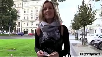 czech fledgling fuckslut penetrate tourist in public for.