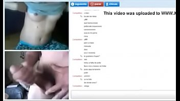 pijama nubile flashing on web cam.