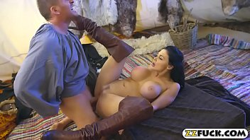 meaty funbags girl gives head and screwed by.