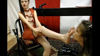 victim munches masters feet - more.