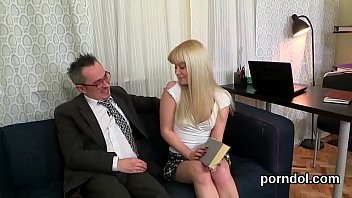 cuddly school lady gets taunted and banged by.