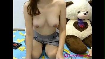 jaw-dropping japanese college girl gets nude on webcam.