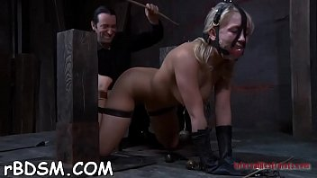 masked cutie gets her billibongs bounded stiff with.