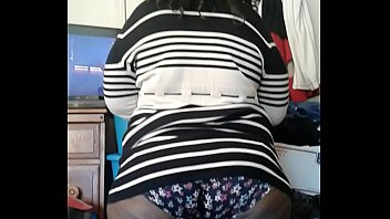 sbbw  in pretty dark-hued underpants