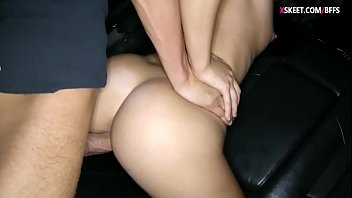 taut nubile lady romped in a.