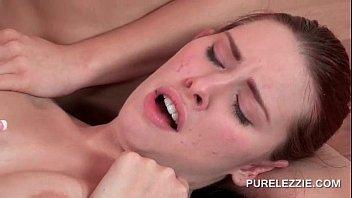 sexually aroused sapphic gf gets taut culo plumbed.