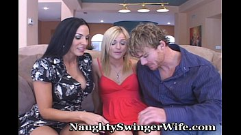supah-naughty duo lures steamy silver-blonde nubile