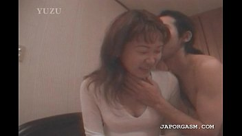 japanese seductress gets steaming orbs tongued.