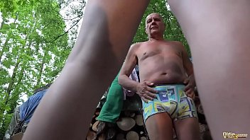 granddad and 2 youthfull dolls caught and humped.