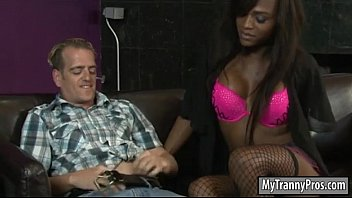 ebony shemale slips her stud rod in folks.