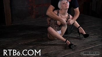 intensive flagellating for worthless dame