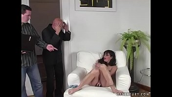 ebony-haired cougar gets romped rigid