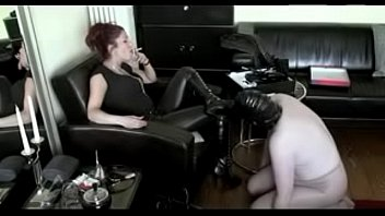 hottest domme predominance of marionette watch pt2 at goddessheelsonlinecouk
