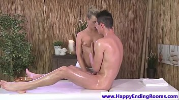 sumptuous masseuse pussyfucked by her customer