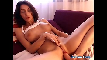 sumptuous cougar tears up faux penis and blasting.