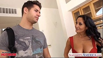 dark-haired mother in stockings ava addams railing rosy cigar