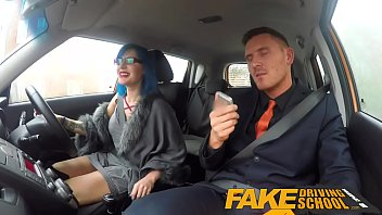 faux driving school jaw-dropping punk gets her rump.