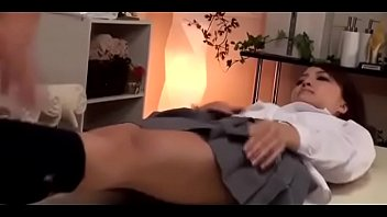 lovely japanese nymph gets a rubdown