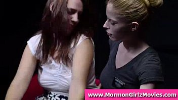 voyeurs witness teenager mormon lezzies eat.
