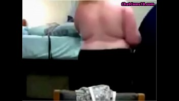 plumper teenager dancing nude and getting clad on.