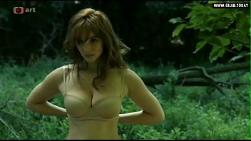 vica kerekes - nude in public outdoors ample.